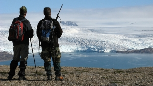 Widok na Nordenskioldbreen. Fot. J. Małecki