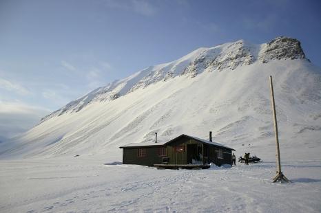 Chata w Bjorndalen. Fot. J. Małecki
