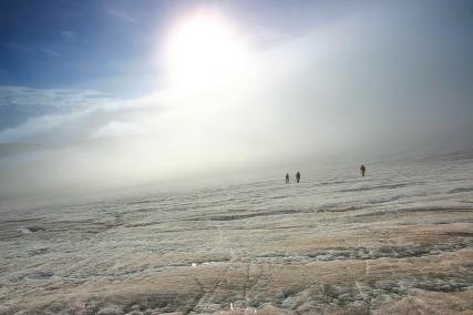 Ebbabreen, największy lodowiec Ziemi Dicksona. Fot. J. Małecki