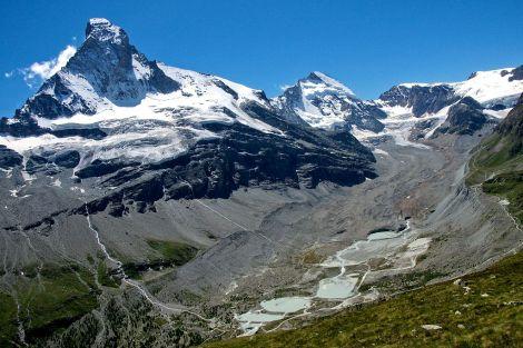 Lodowiec Zmuttgletscher, Szwajcaria, Alpy. Fot. Jackph/Wikimedia