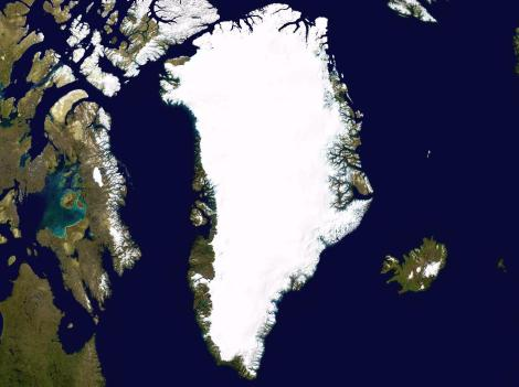 Grenlandia. Fot. NASA