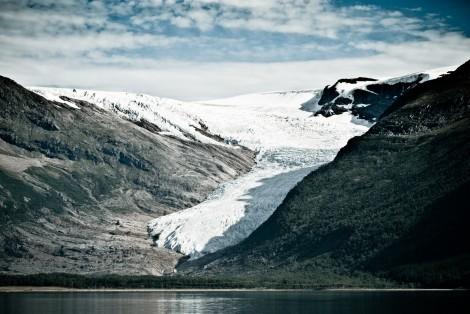 Jęzor lodowca Enga (Engabreen)