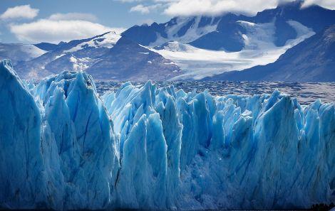 Lodowiec Upsala (Upsala Glacier), Patagonia, Argentyna. Fot. longhorndave/Flickr/Wikimedia