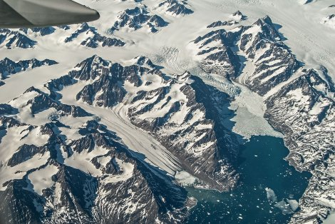 Krajobraz południowo-wschodniej Grenlandii. Fot. Richard Droker, CC BY-NC-ND 2.0
