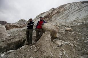 Czoło lodowca Zongo (Glaciar Zongo). Fot. T. Kurczaba