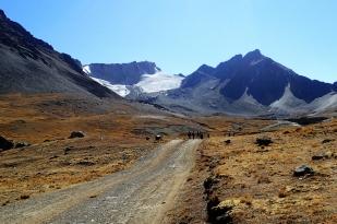 W drodze na lodowiec Charquini Sur. Fot. J. Małecki