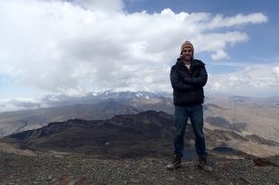 Na szczycie Chacaltaya (5300 m n.p.m.). Fot. J. Małecki