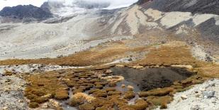 Dla koneserów - strefa morenowa lodowca Charquini Sur z doskonale widocznymi sekwencjami moren bocznych i recesyjnych. Fot. J. Małecki