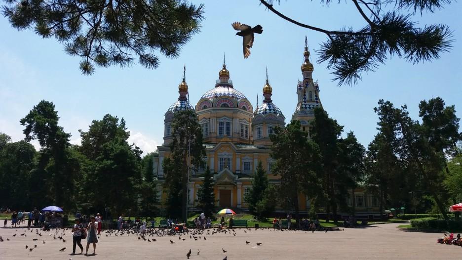 Ałmaty. Sobór Wniebowstąpienia. / Almaty. Ascension cathedral. Fot. JM