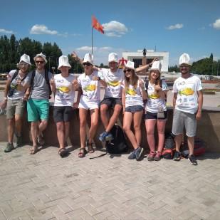 Nam się Biszkek podoba :) / We like Bishkek :)